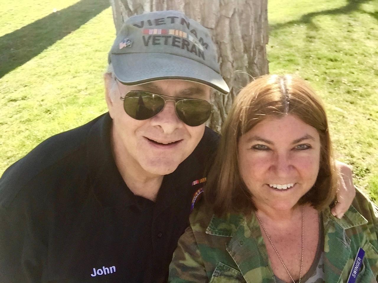 989's John Swinger & Wife