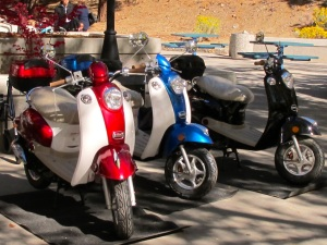 VVA 989 Scooters for Scholarship Raffle at University of Nevada.