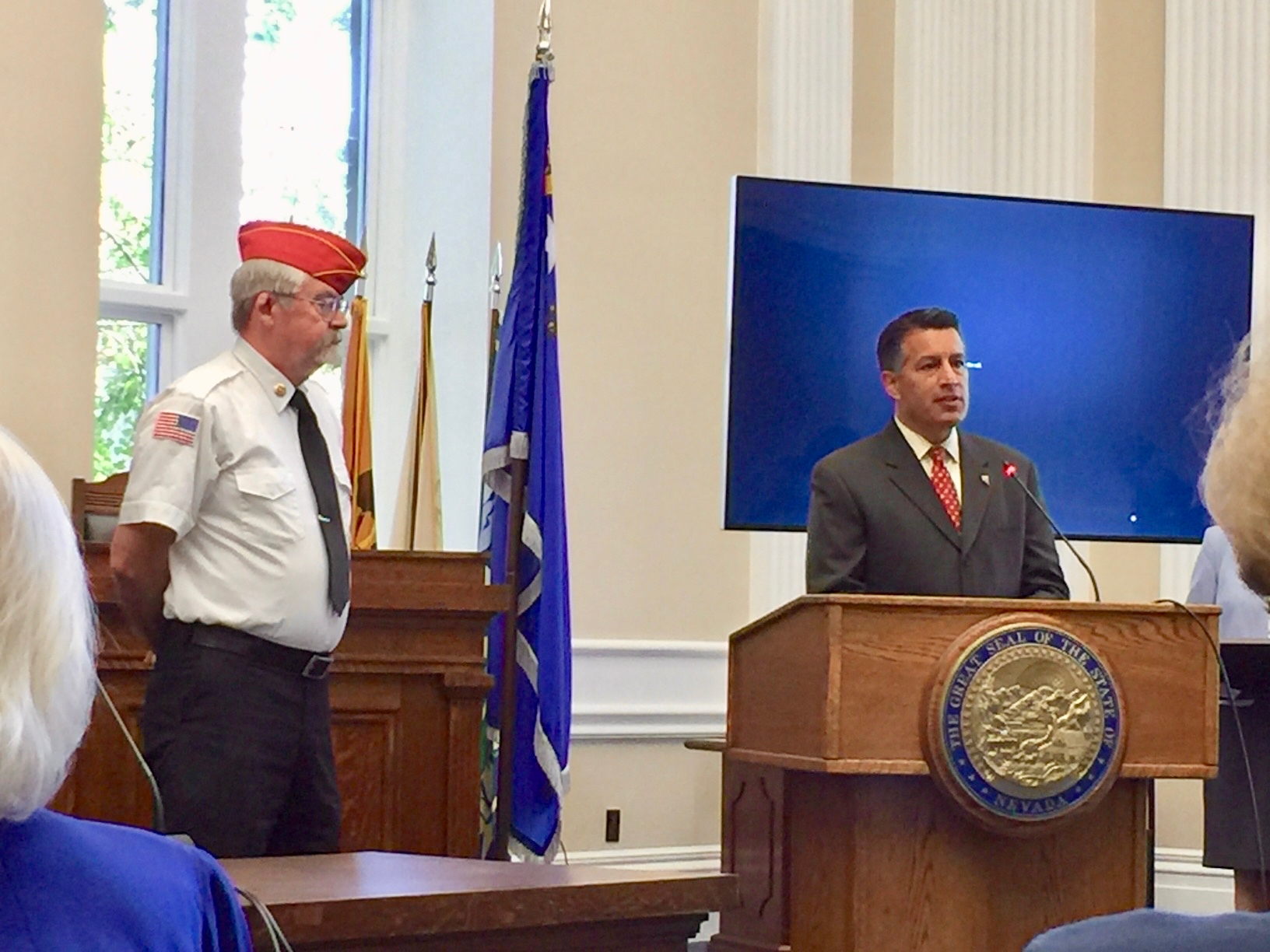 Kevin Burns, Chair, United Veterans Legislative Counsel